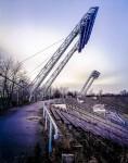 floodlightning pylons