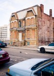 Abandoned house downtown Detroit