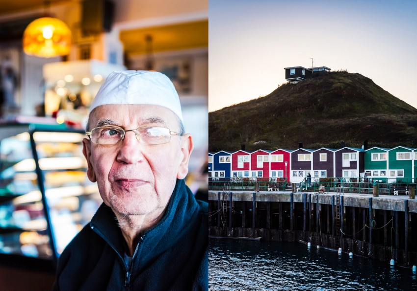 Mr. Krebs, baker by trade, and the Lobster huts