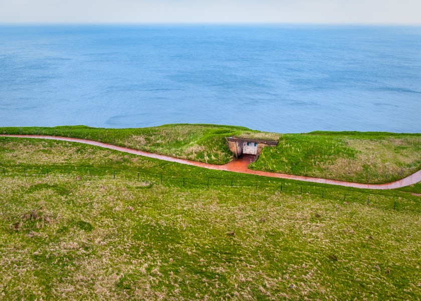 Footpath around Helgoland