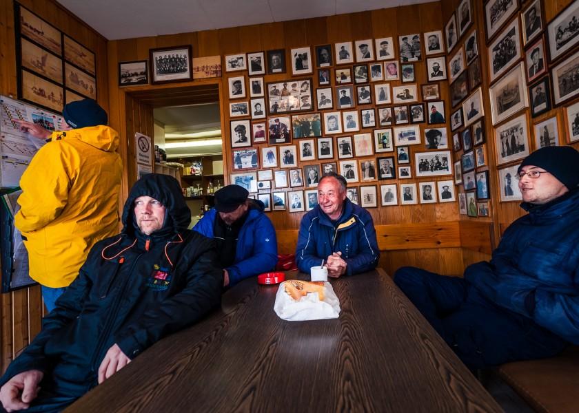 Boerteboat sailors