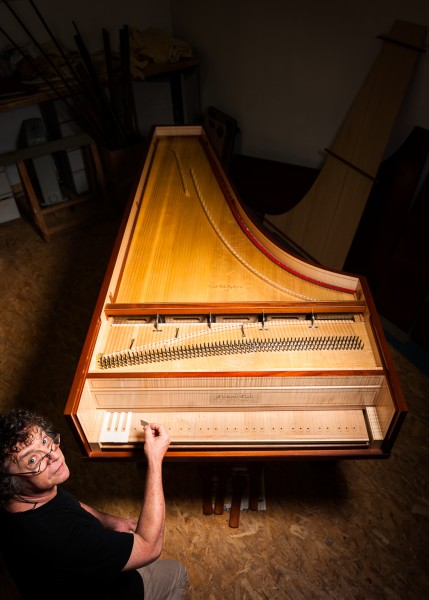 Christopher Clarke and his Fortepiano