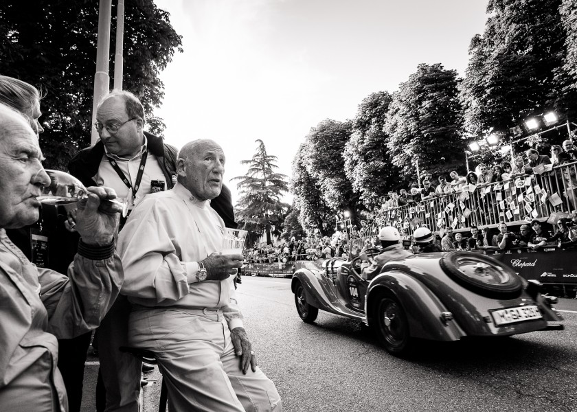 At the start of Mille Miglia 2012
