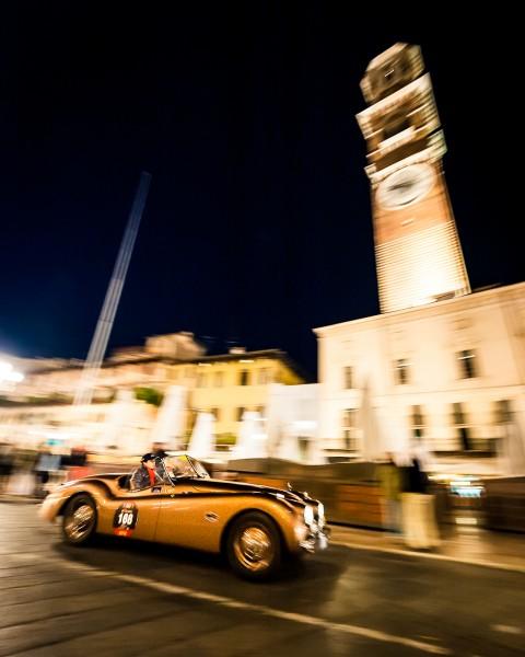 Jaguar night, Mille Miglia