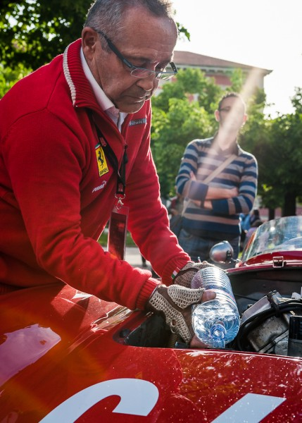 Service at Mille Miglia