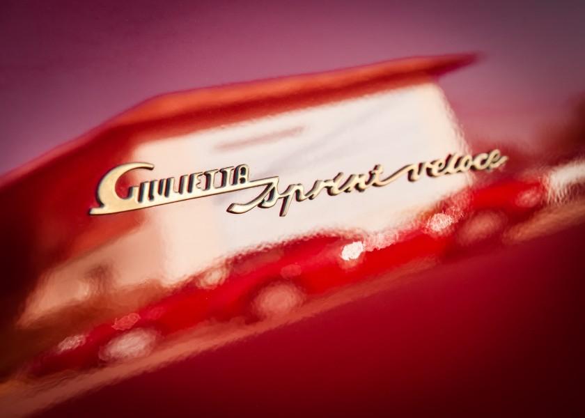 Alfa Romeo Giulietta Sprint detail