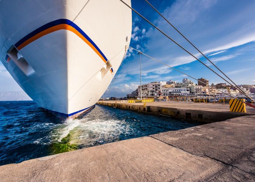 MS Europe 2 in Agios Nikolaos