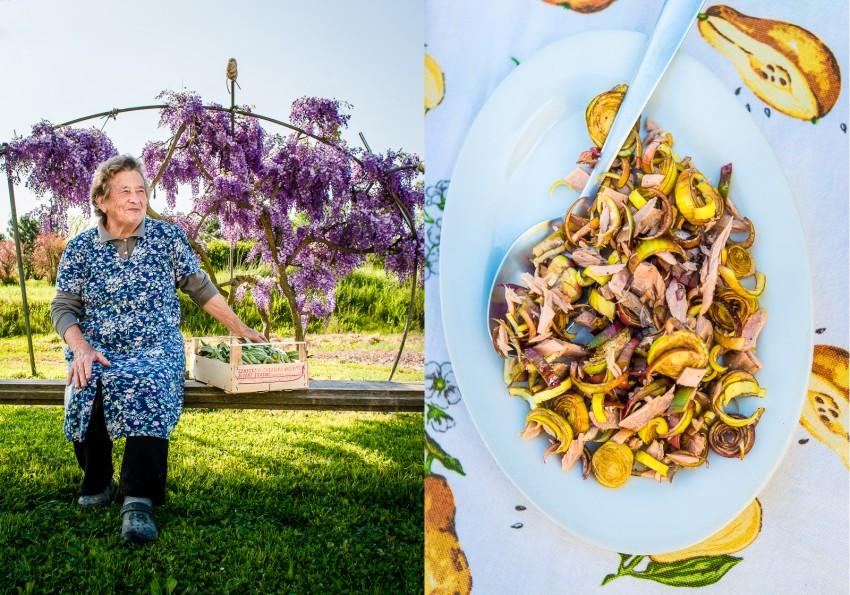 Grandma's Castraure recipe