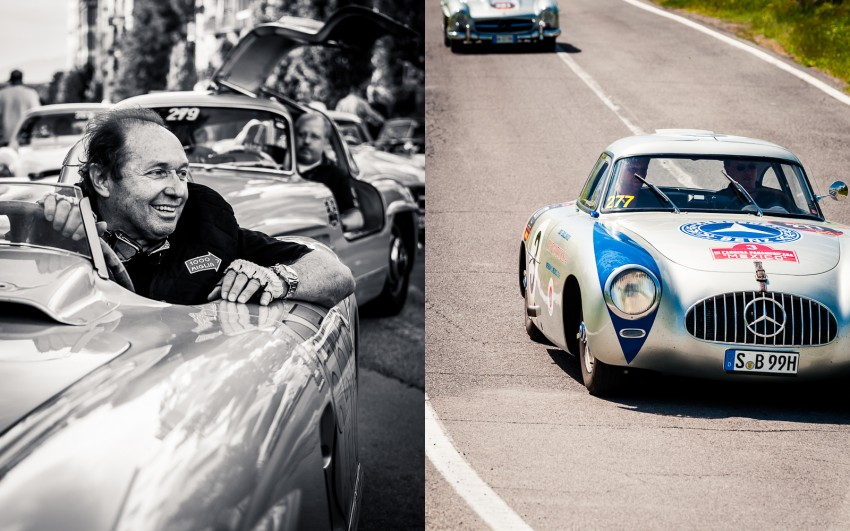 Jochen Mass - Mercedes 300 SL