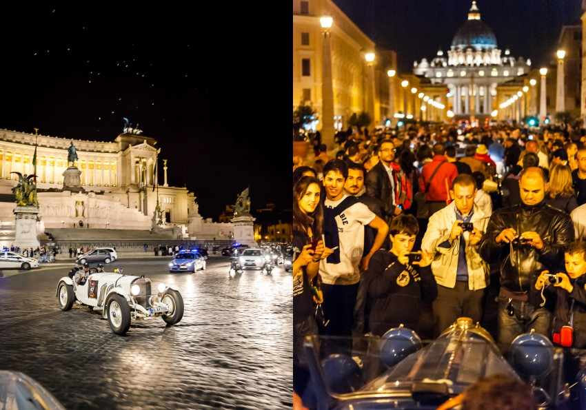 One night in Rom, Mille Miglia