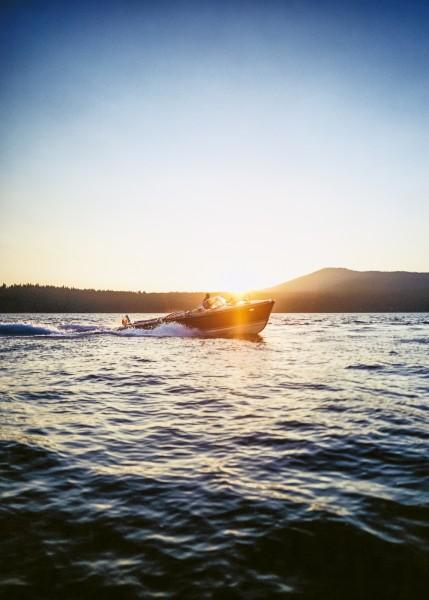 Sunset with RIVA Aquarama No.80